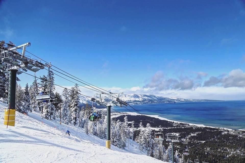 Tahoe : de la neige en Californie