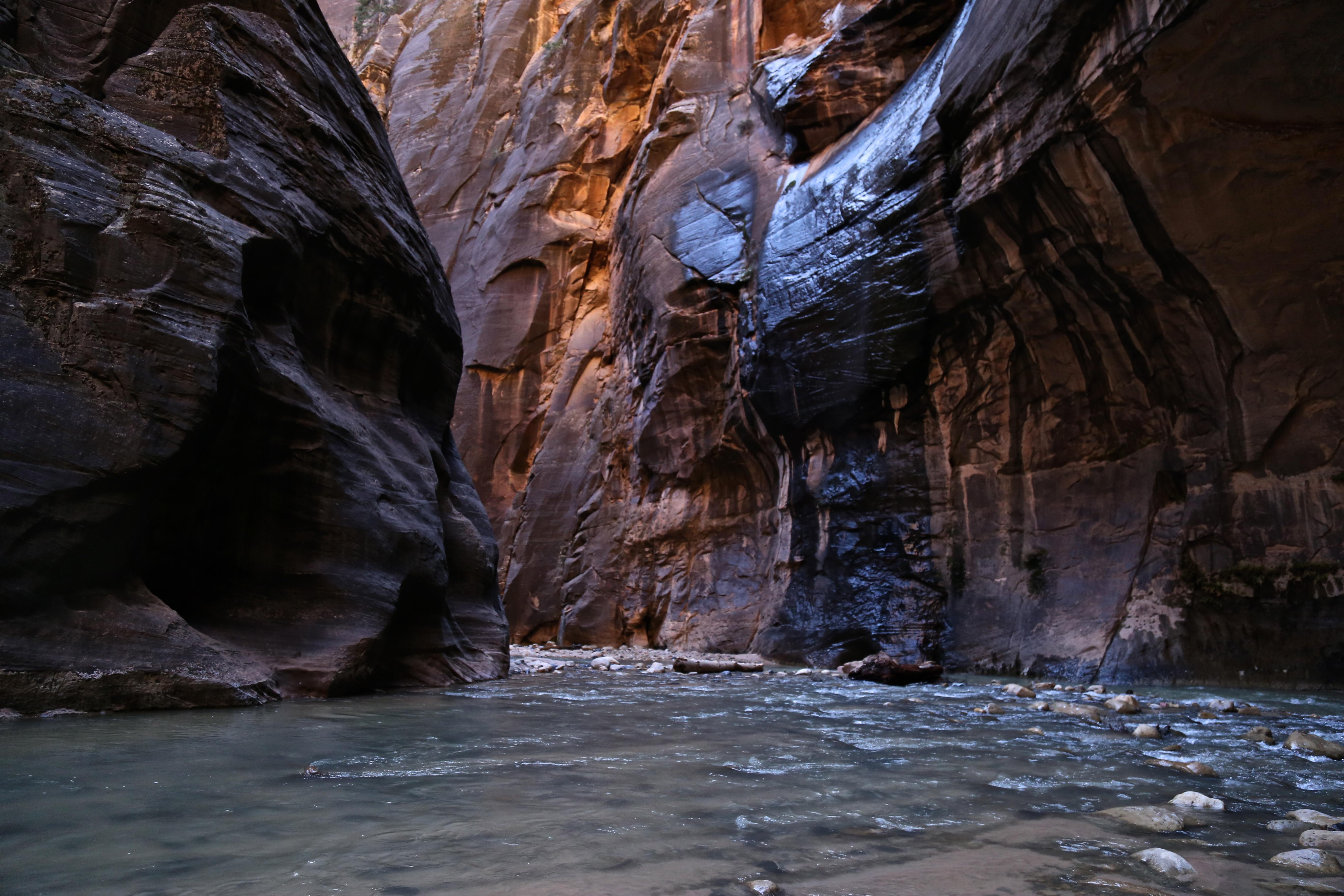 Les Trails du Zion National Park