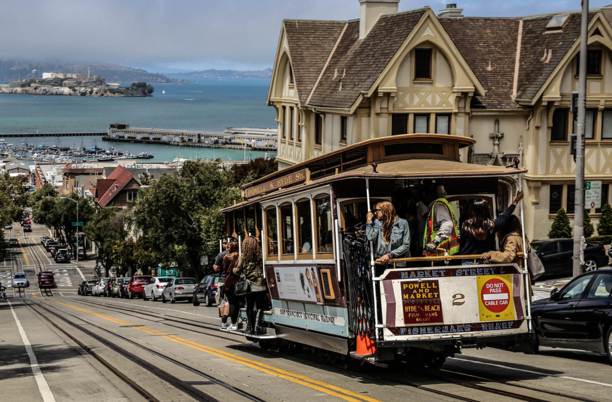 visiter san francisco-californie-tourisme-cable-car-alcatraz